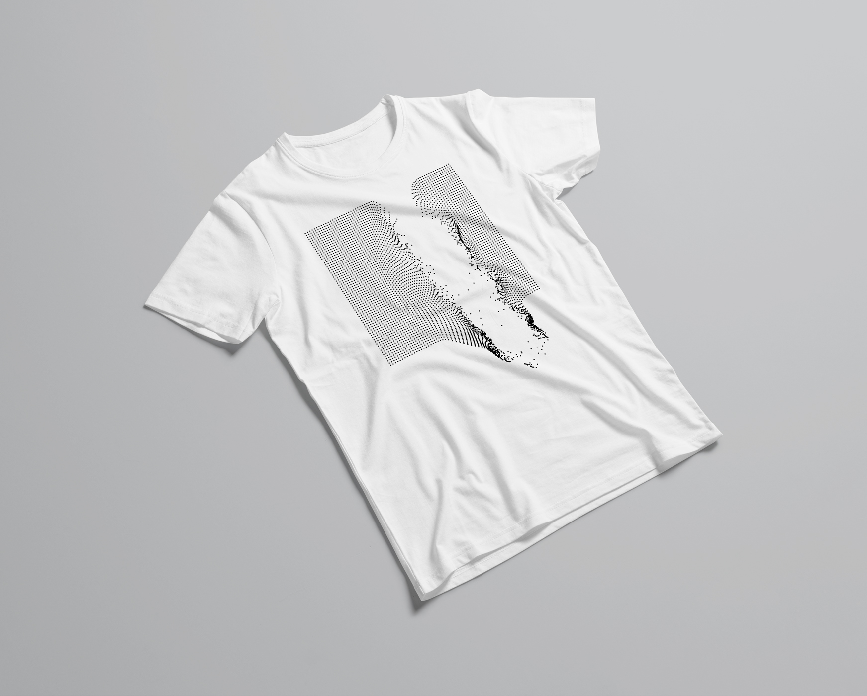 Broken Geometries T-Shirt Omar Careaga